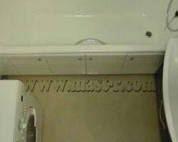 Фото ремонта ванной комнаты: ул. Магнитогорская