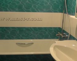 Фото ремонта ванной комнаты: ул. Менжинского