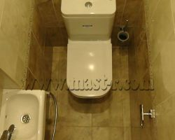 Фото ремонта ванной комнаты: ул. Наташи Ковшовой