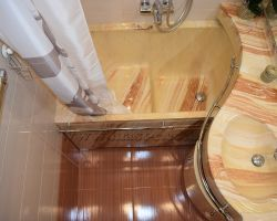 Фото ремонта ванной комнаты: ул. Генерала Белова, дом 52